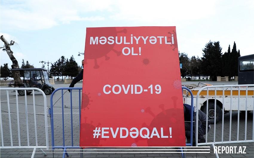 Mingəçevirdə yaşadığı ünvanı tərk edən COVID-19 xəstəsi saxlanıldı