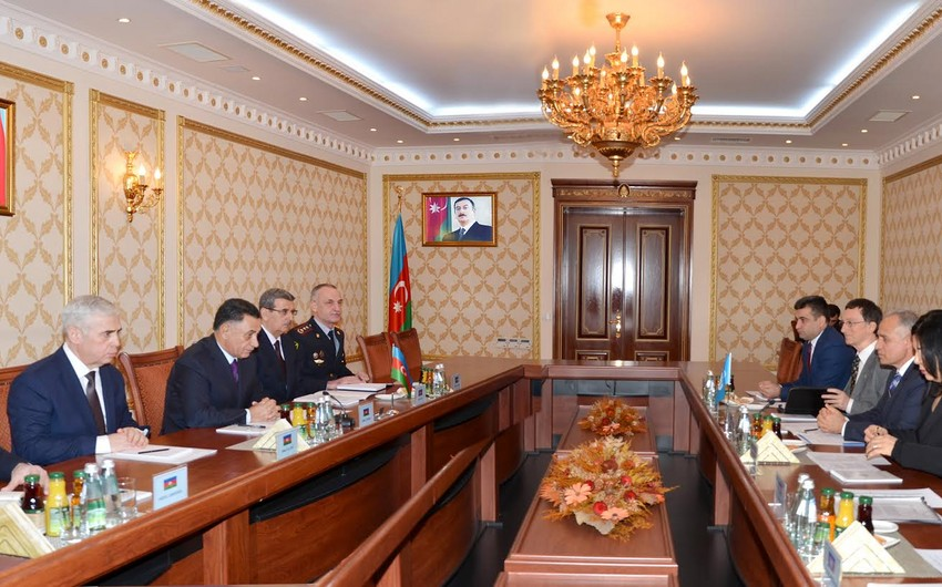 Ramil Usubov BMT-nin Azərbaycana yeni təyin olunmuş nümayəndələri ilə görüşüb