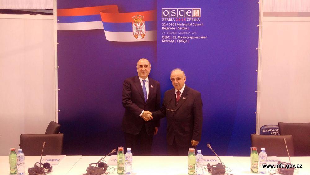 Elmar Mammadyarov met with Malta's Foreign Minister