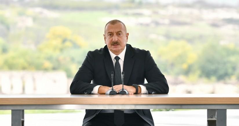 Prezident: Biz ordumuzu, iqtisadiyyatımızı, beynəlxalq mövqelərimizi genişləndirdik və istədiyimizə nail olduq