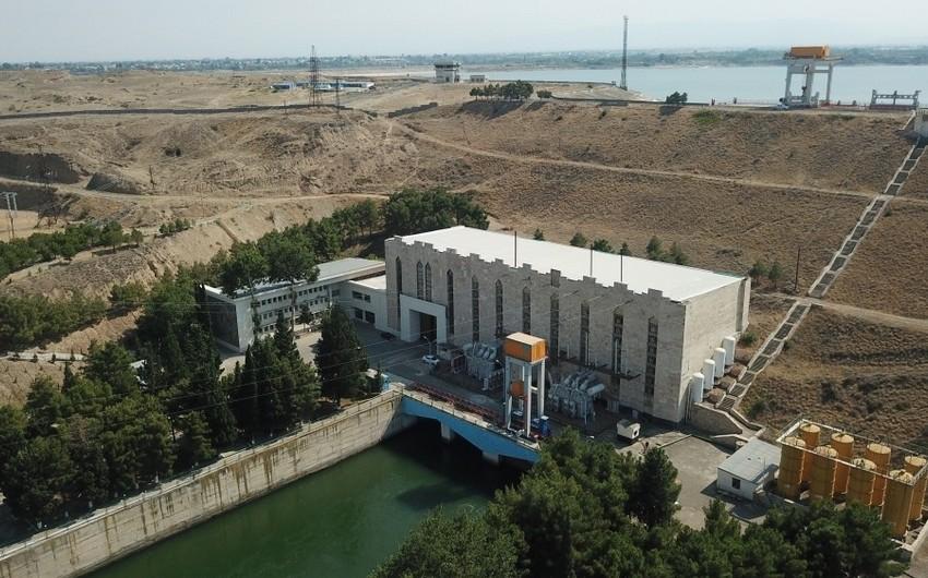Azərbaycanın ikinci böyük su elektrik stansiyasında təmir işlərinə başlanılıb