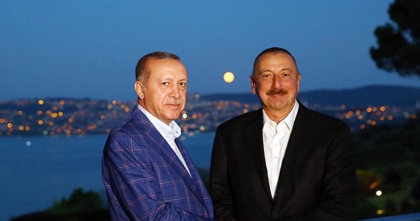 Ərdoğan: Türkiyə bundan sonra da Azərbaycana dəstək verəcək