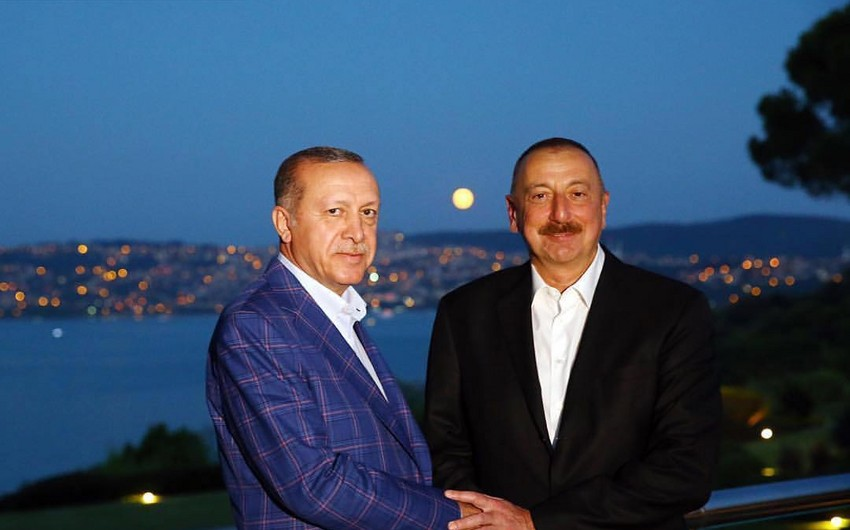 Azərbaycan və Türkiyə prezidentləri İstanbulda ikitərəfli münasibətləri müzakirə ediblər