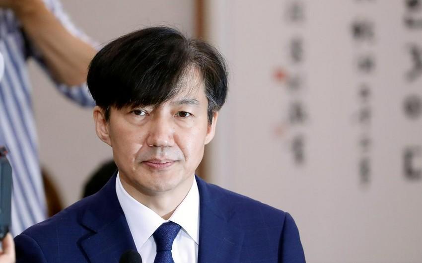 Cənubi Koreyanın ədliyyə naziri təyinatından bir ay sonra istefa verib