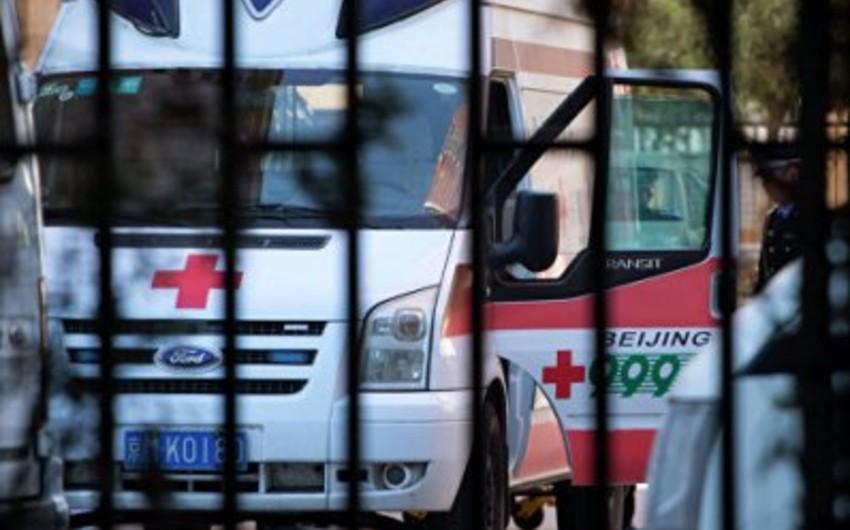 Çində mikroavtobusun çaya düşməsi nəticəsində 8 nəfər ölüb