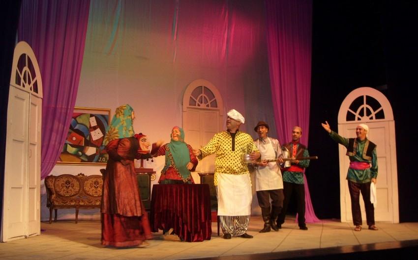 Musiqili Teatrın yaradıcı heyəti Tehrandan qayıdıb