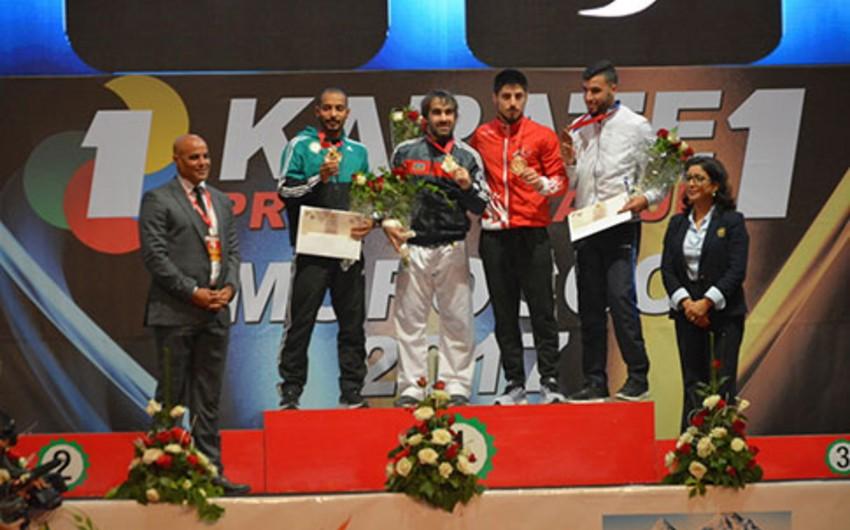 """""""Qəbələ"""" İdman Klubunun karateçisi Rabat Premyer Liqasının qalibi olub"""