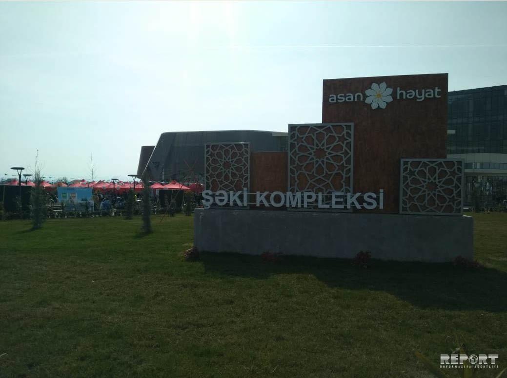 Şəkidə ASAN Həyat Bahar Festivalı keçirilir - FOTO