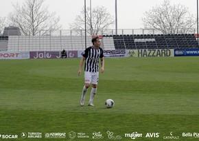 Neftçinin futbolçusu: Bu gün bütün stadion Türkiyəni dəstəkləyəcək