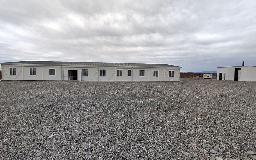 New modular military unit commissioned in Azerbaijan's Aghdam district