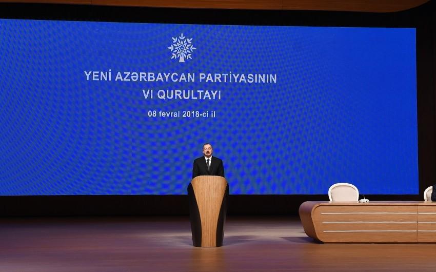 """Prezident: """"Beynəlxalq reytinqlər Azərbaycan ordusunun gücünü əks etdirir"""""""