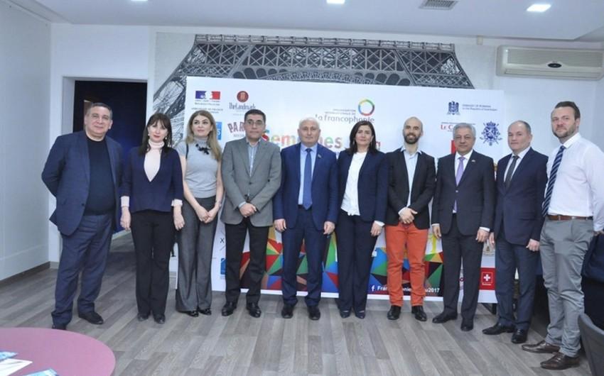 Le Carrefour qəzetinin Frankofoniya həftəsində təqdimatı keçirilib