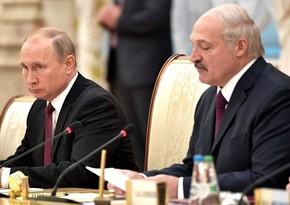 Putin və Lukaşenko Belarusdakı vəziyyəti müzakirə etdilər