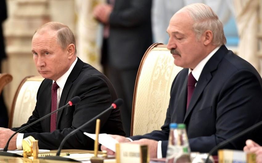 Lukashenko, Putin discuss Belarus situation
