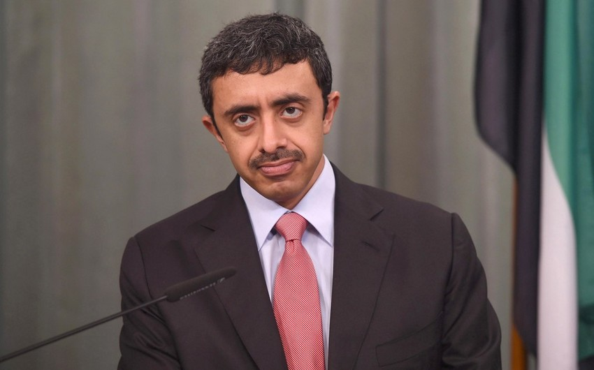 Minister of Foreign Affairs and International Cooperation of UAE to pay an official visit to Azerbaijan
