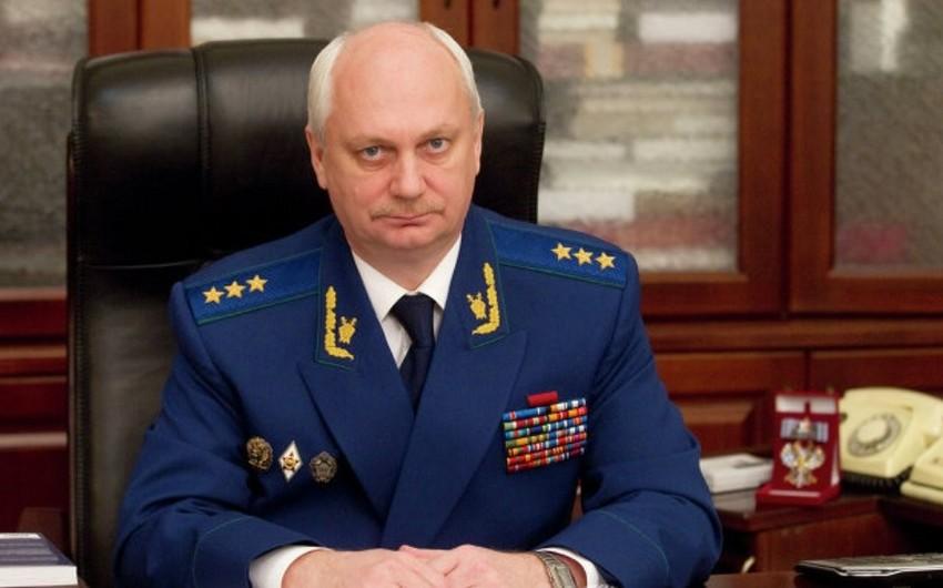 Rusiyanın baş hərbi prokuroru istefa verib