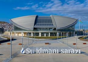 Su İdmanı Sarayı 2,5 mln manatlıq tenderə yekun vurub
