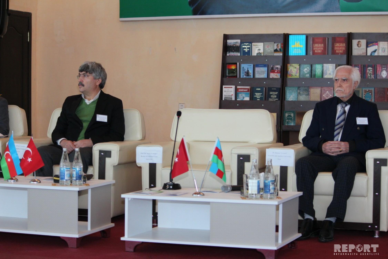 Lənkəranda beynəlxalq simpozium keçirilib - FOTO