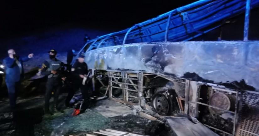 Misirdə avtobus aşıb: 20 nəfər ölüb, 3 nəfər yaralanıb