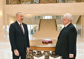 Mixail Qusman Azərbaycan Prezidentini təbrik etdi