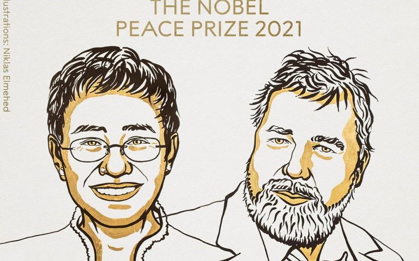 Nobel Sülh mükafatı laureatlarının adları açıqlanıb