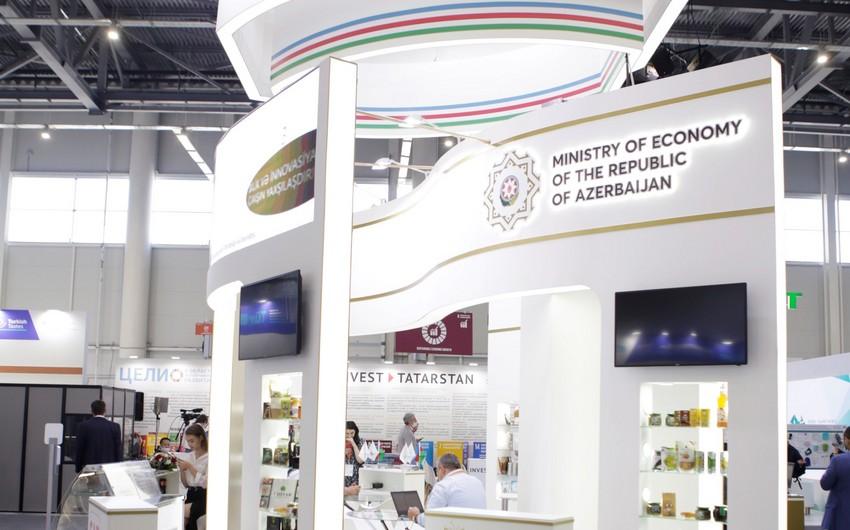 """Azərbaycan məhsulları """"Russia Halal Expo"""" sərgisində nümayiş etdirilir"""