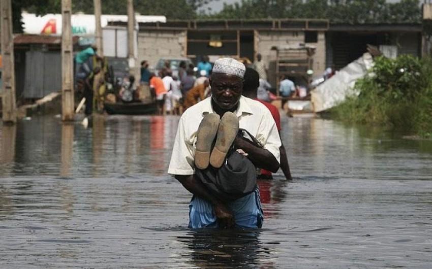 Nigerdə daşqınlar nəticəsində 35 nəfər həlak olub