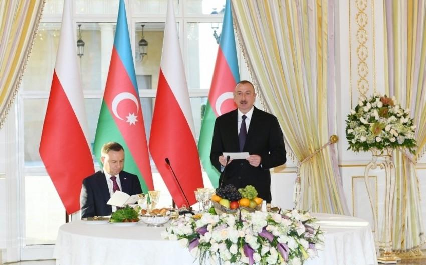 Prezident İlham Əliyev: Azərbaycan regionda təhlükəsizliyin, inkişafın və əməkdaşlığın tərəfdarıdır - YENİLƏNİB - FOTO