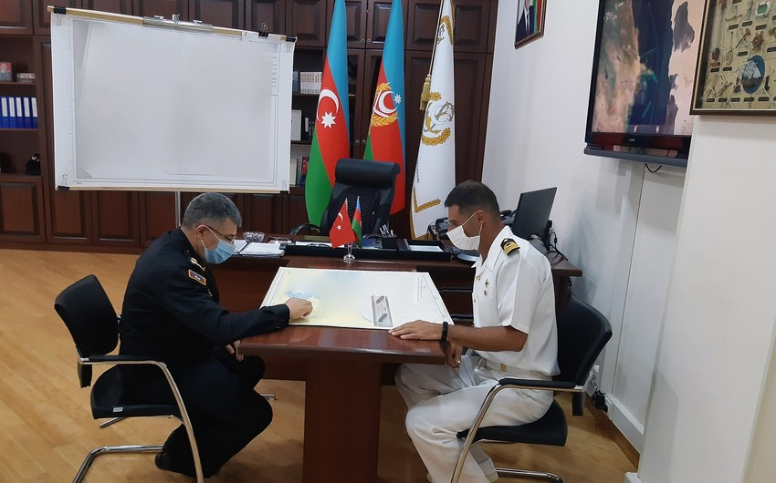 Турецкий координатор ВМС Азербайджана: Распространяется ложная информация