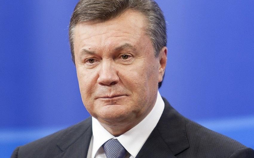Kiyevdə keçmiş prezidentin dindirilməsinə başlanılıb