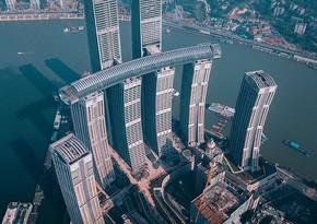 В Китае эвакуировали 350-метровый небоскреб