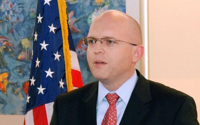 ABŞ Dövlət Departamentinin rəsmisi Gürcüstana səfər edib