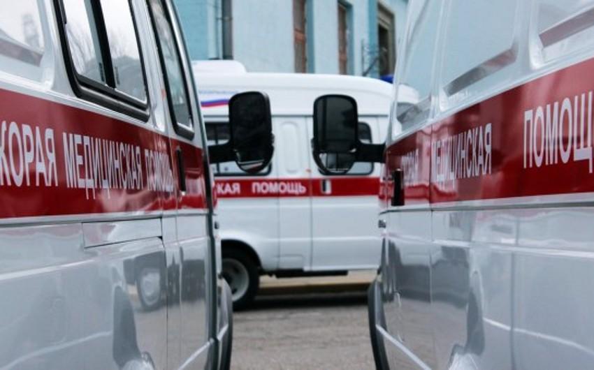 Rusiyada sərnişin avtobusu aşıb, 16 nəfər xəsarət alıb