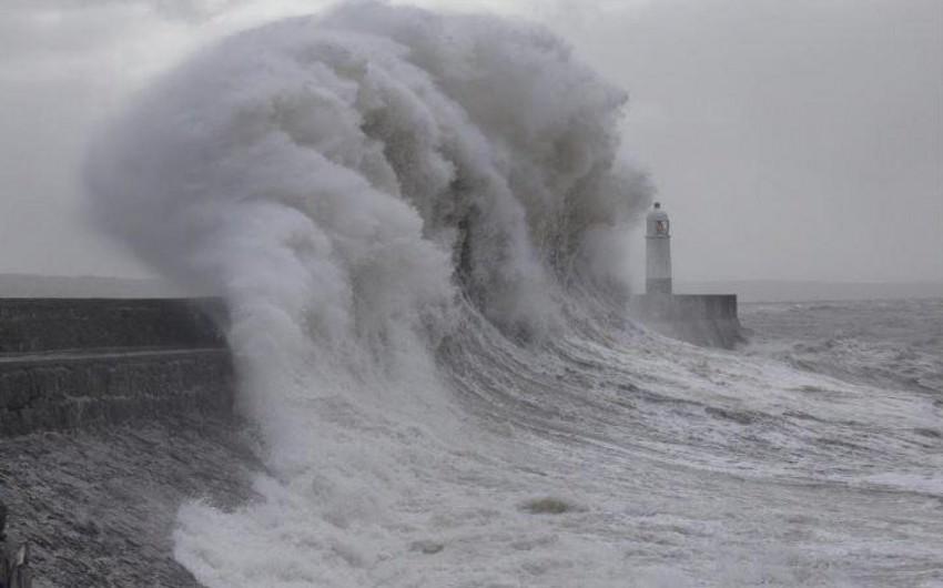 Şanxayda tropik fırtınaya görə 130 min insan təxliyyə edilib