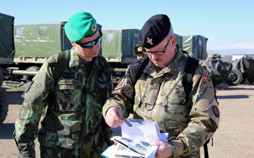 International inspection team conducted an inspection and evaluation in Combined-Arms Army