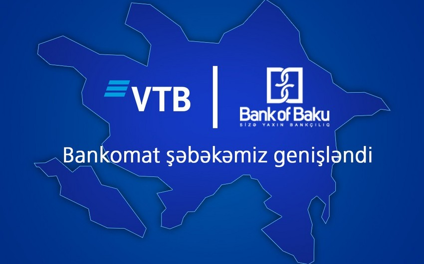 Bank VTB (Azerbaijan) bankomat şəbəkəsini genişləndirir
