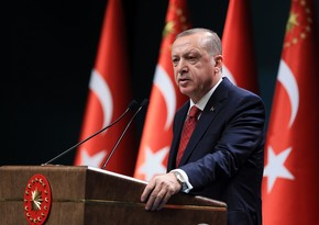 Erdoğan: Armenian occupation ended with the support of Turkey""