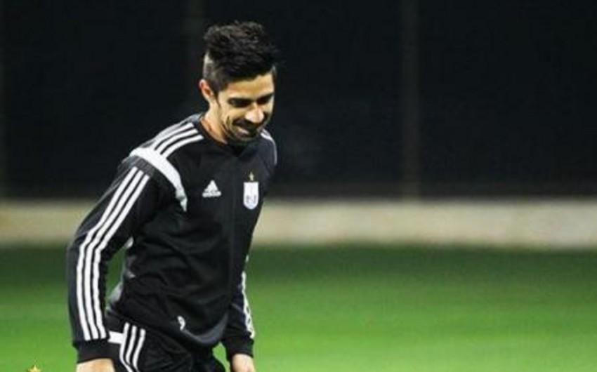 Neftçinin kapitanı Flavinyo Azərbaycan Kubokunun finalında oynamayacaq
