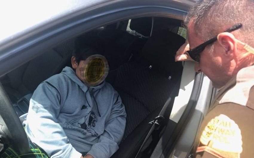 """ABŞ-da 5 yaşlı uşaq """"Lamborghini"""" almaq üçün valideynlərinin avtomobilini qaçırdı - VİDEO"""