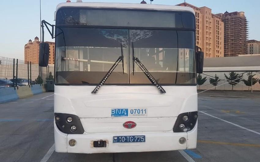 BNA: Qaydanı pozan sürücü işdən çıxarılıb, avtobus isə xətdən kənarlaşdırılıb