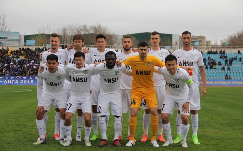 Qazaxıstan Futbol Federasiyası ölkə klubunun avrokuboklarda iştirakına qadağa qoyub