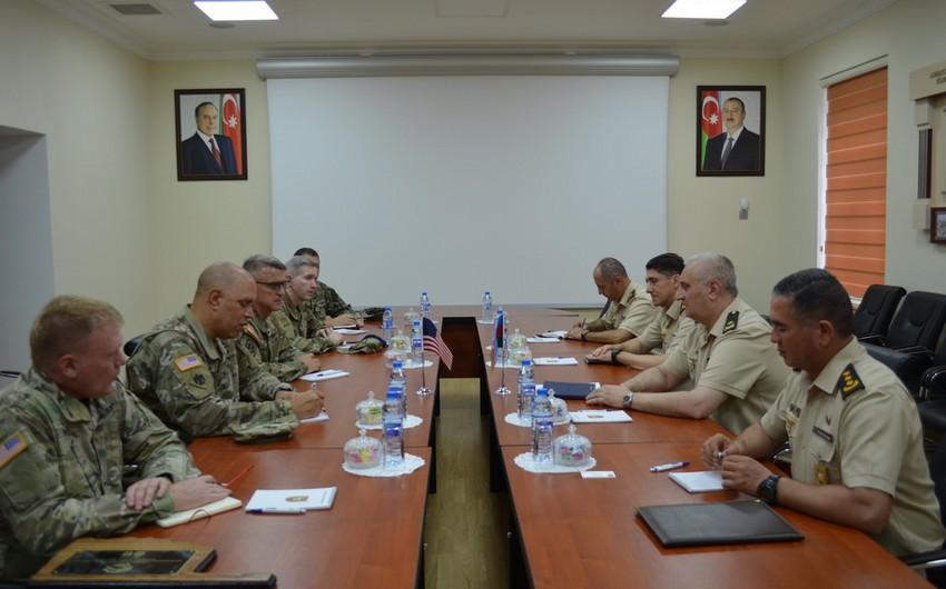 Azərbaycan Ordusu ilə Oklahoma Ştatı Milli Qvardiyası arasında əməkdaşlıq müzakirə edilib