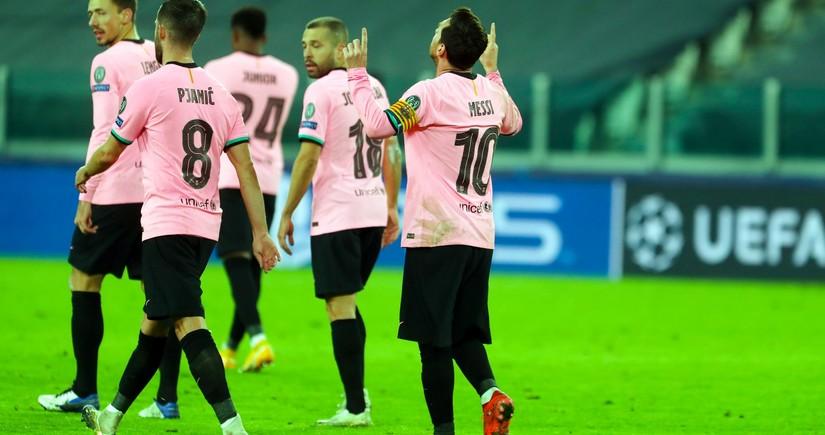 Lionel Messi Çempionlar Liqasında rekorda imza atdı