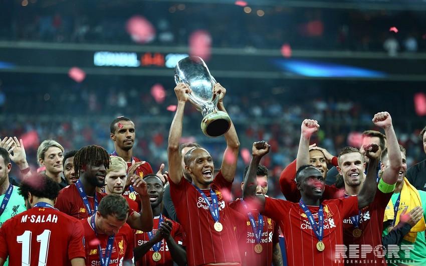Ливерпуль, выиграв Челси в серии пенальти, завоевал Суперкубок УЕФА - ФОТОРЕПОРТАЖ