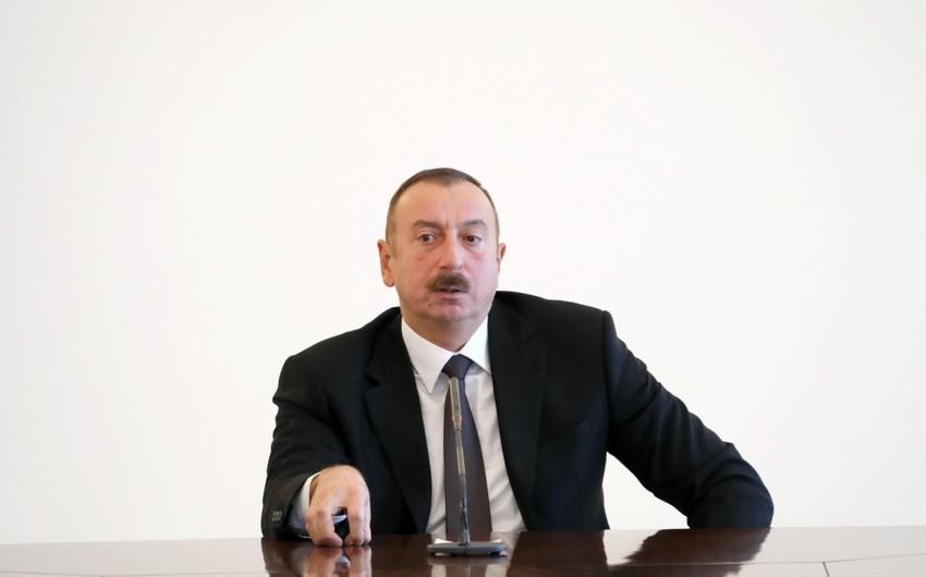 Prezident: Ermənistanın danışıqları boykot etmək siyasəti ağılsız və səmərəsiz idi