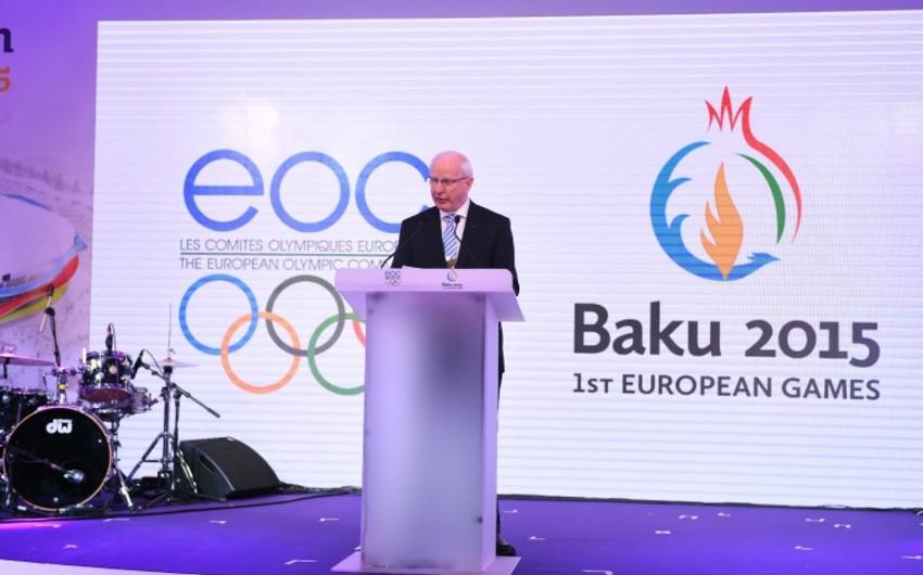 Patrik Hikki: Bakıda olduqca gözəl ilk Avropa Oyunları keçiriləcək