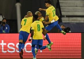 Amerika Kuboku: Braziliya və Peru yarımfinala yüksəldi