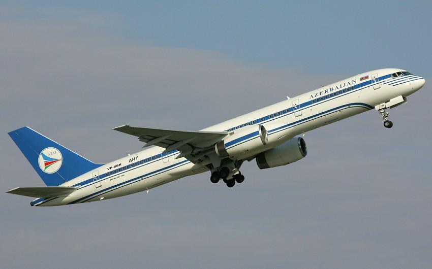 Azərbaycan Hava Yolları ABŞ-a ilk birbaşa uçuşunu həyata keçirib
