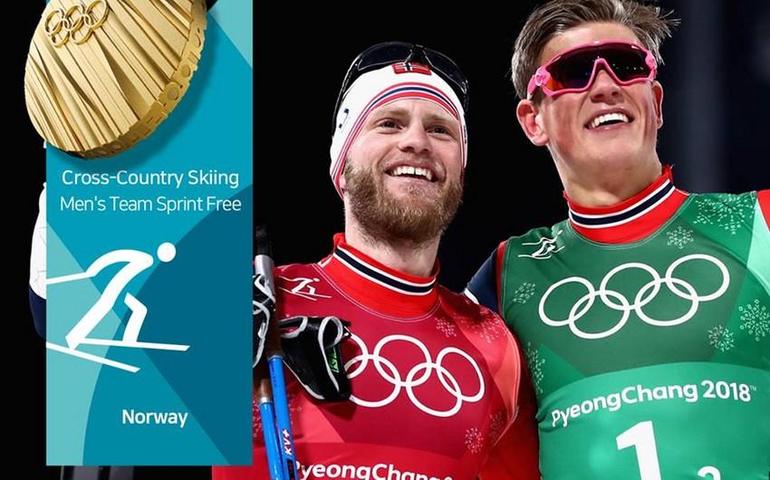 Pxençxan-2018: Norveç medal sayındakı üstünlüyünü artırıb