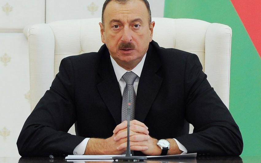 Prezident İlham Əliyev Albaniyanın yeni seçilmiş Prezidentini təbrik edib